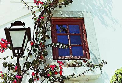 Photograph - Cascais Window by Sarah Loft