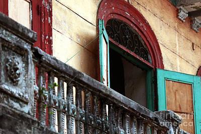 Photograph - Casco Viejo Balcony by John Rizzuto