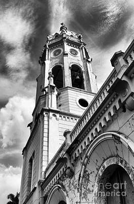 Photograph - Casco Viejo St. Francis Mono by John Rizzuto