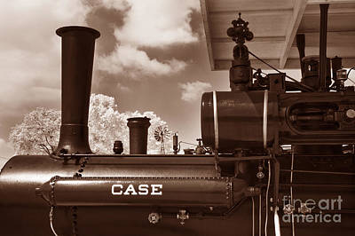 Photograph - Case Steam by Paul W Faust -  Impressions of Light
