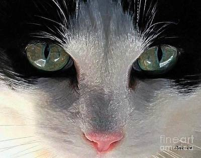 Casey Eyes Art Print by Dale   Ford