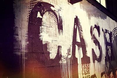 Of Artist Photograph - Cash by Dan Sproul