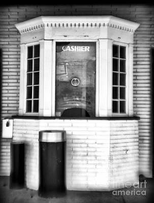 Photograph - Cashier by John Rizzuto
