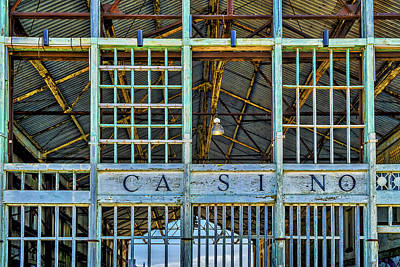 Photograph - Casino Asbury Park New Jersey by Susan Candelario