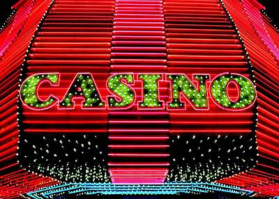 Photograph - Casino by Benjamin Yeager