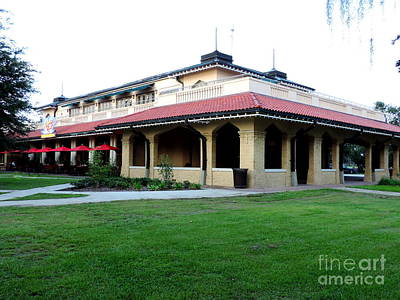 Photograph - Casino Building In City Park New Orleans Louisiana by Michael Hoard