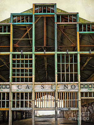 Photograph - Casino In Multi-color by Colleen Kammerer