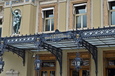 Photograph - Casino Monte Carlo by Allen Sheffield