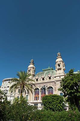 Monaco Photograph - Casino, Monte Carlo, Principaute De by Sergio Pitamitz