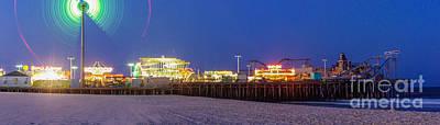 Casino Pier Seaside Original by Lucy Raos