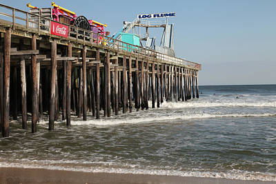 Casino Pier  Seaside  Nj Art Print by Neal Appel