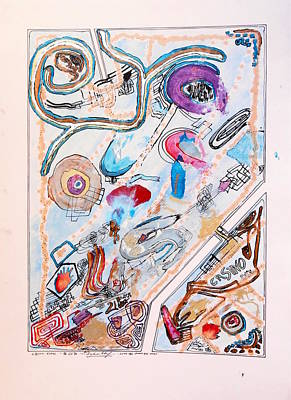 Lottery Mixed Media - Casino Royal by Dietmar Scherf