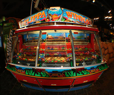 Lottery Mixed Media - Casino Slot Machine by Doc Braham