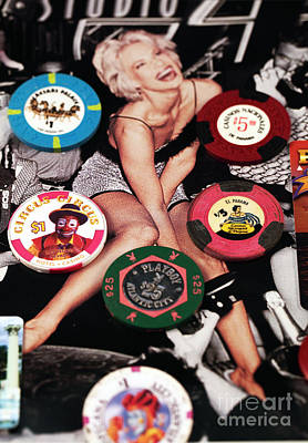 Photograph - Casino Winnings by John Rizzuto