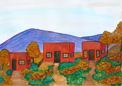 Painting - Casitas by Kerry Bennett