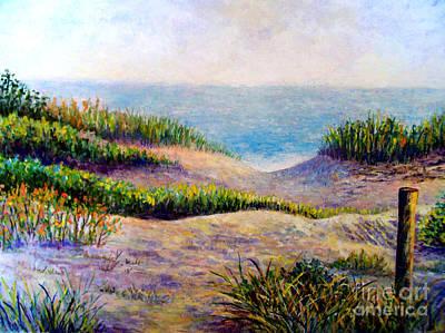 Painting - Casperson's Beach Sarasota Florida by Lou Ann Bagnall
