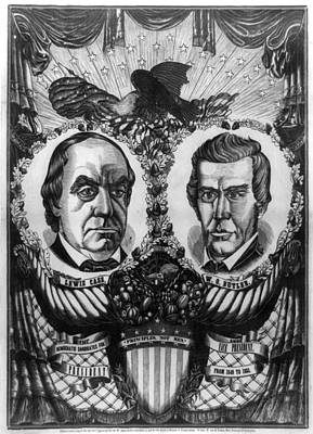 Democrat Painting - Cass And Butler, 1848 by Granger