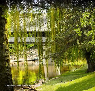 Photograph - Cass River Frankenmuth Michigan by LeeAnn McLaneGoetz McLaneGoetzStudioLLCcom