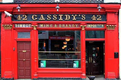 Photograph - Cassidys Pub, 42 Lower Camden Street by Eoin Clarke