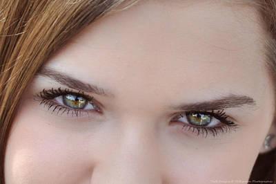 Photograph - Cassie Eyes by Teresa Blanton