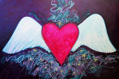 Painting - Cassie's Wings by Carol Suzanne Niebuhr