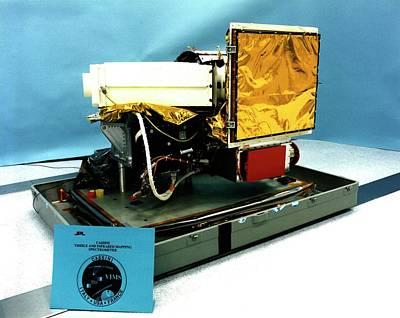 Spectrometer Photograph - Cassini's Spectrometer Equipment by Nasa