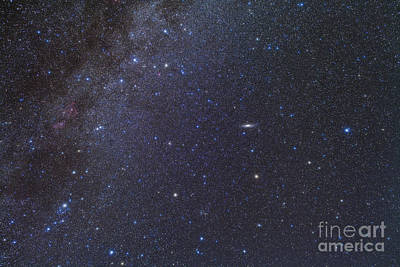Cassiopeia, Perseus And Andromeda Area Art Print by Alan Dyer