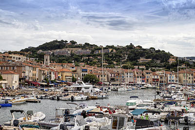 Cassis - South Of France Art Print by Georgia Fowler