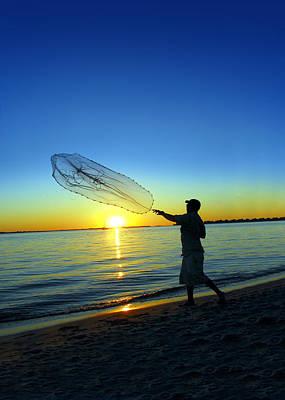 Sail Fish Photograph - Cast Away by Jon Neidert