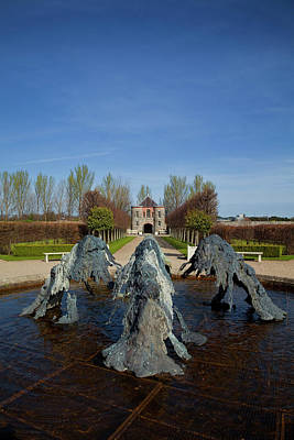 Historic Buildings Images Photograph - Cast Bronze Fountain By Lynda Benglis by Panoramic Images