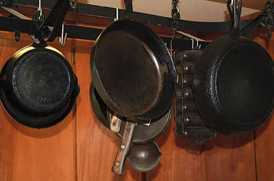 Photograph - Cast Iron Kitchen by Tikvah's Hope