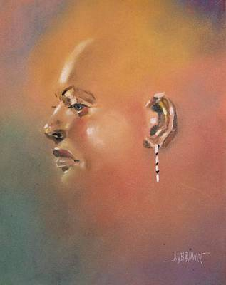 Art Print featuring the painting Cast Reflectionn 1 by Al Brown