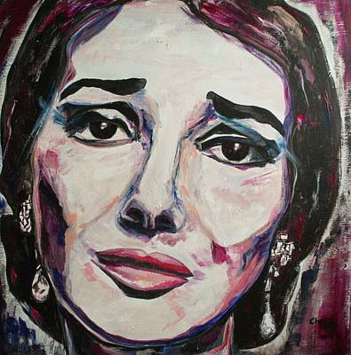 Painting - Casta Diva by Christel Roelandt