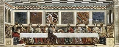 Castagno, Andrea Del 1423-1457. Last Art Print by Everett