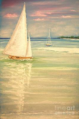 Painting - Castaway by The Beach  Dreamer