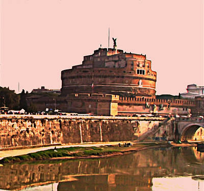 Art Print featuring the photograph Castel Sant 'angelo by Brian Reaves