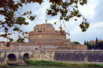 Photograph - Castel Sant Angelo In Rome by Caroline Stella