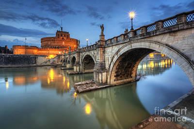 Photograph - Castel Sant' Angelo by Yhun Suarez