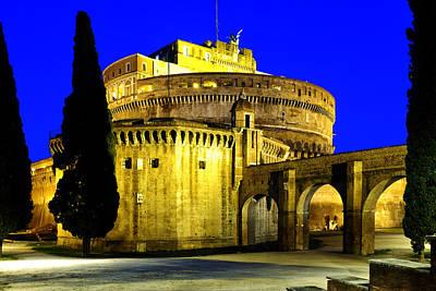 Photograph - Castel Sant'angelo by Fabrizio Troiani