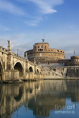 Ancient Roman Photograph - Castel Sant'angelo by Rod McLean