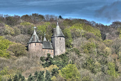 Photograph - Castell Coch Cardiff Painterly by Steve Purnell