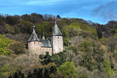 Photograph - Castell Coch Cardiff by Steve Purnell