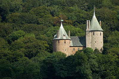 Art Print featuring the photograph Castell Coch by Jeremy Voisey