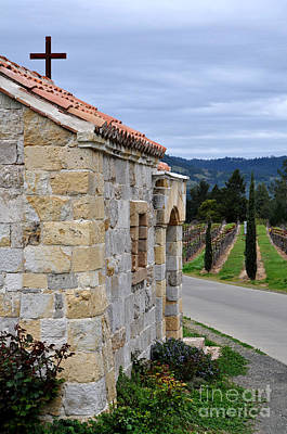 Photograph - Castello Di Amorosa by Gina Savage