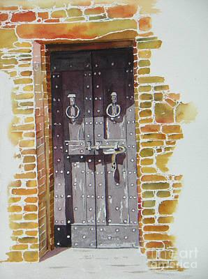 Castello Di Amorosa Original by Lou Ann Overman