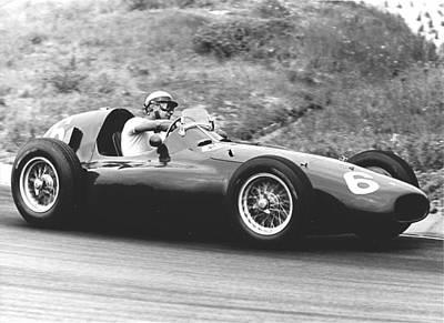Zandvoort Photograph - Castellotti Ferrari by Robert Van Es