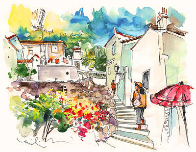 Painting - Castelo De Vide 05 by Miki De Goodaboom