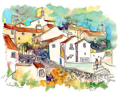 Painting - Castelo De Vide 07 by Miki De Goodaboom