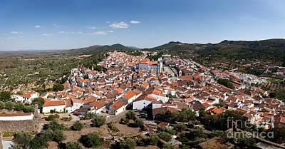 Rooftops Photograph - Castelo De Vide Rooftops by Jose Elias - Sofia Pereira
