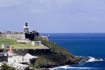 Photograph - Castillo De San Felipe Del Morro by Mary Lou Chmura